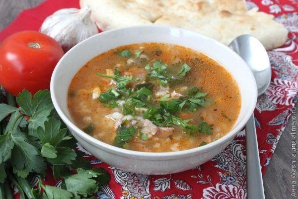 суп харчо рецепт в мультиварке