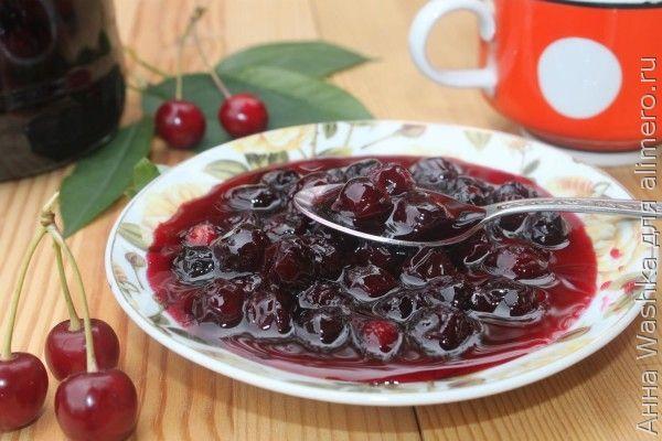 вишневое варенье рецепт