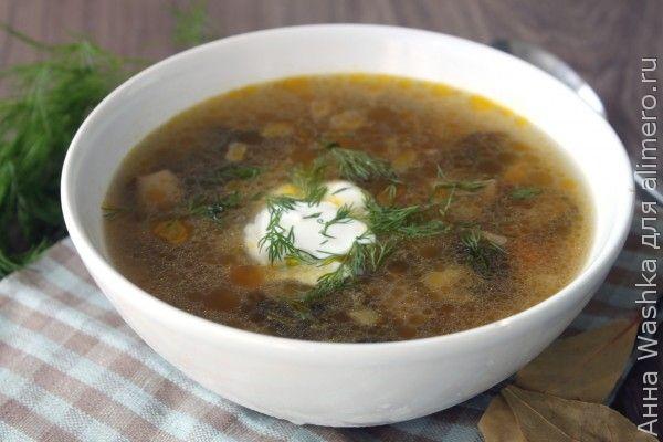 рецепт супа из сушеных подберезовиков