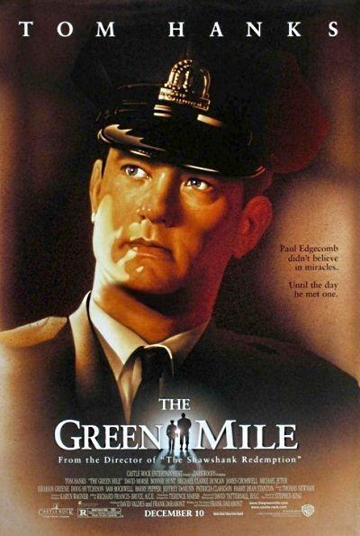 «Зеленая миля». Я смотрела этот фильм трижды! И всякий раз не могла сдержать слез. Актеры подобраны просто идеально. А как тонко они передают все эмоции,- нельзя остаться равнодушной.