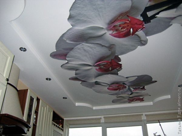 Величественные орхидеи всегда очаровывают меня своим изяществом. Такой принт хорош для больших комнат или просторных кухонь.