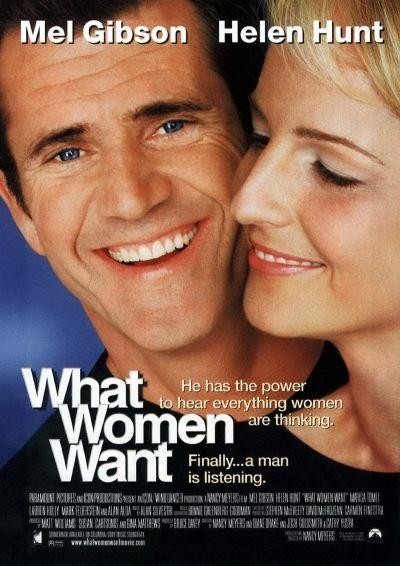 Чего хотят женщины. Как бы вели себя мужчины, умей они слышать наши женские мысли? А вот герою этого фильма выпала такая возможность.  Его мир перевернулся с ног на голову.