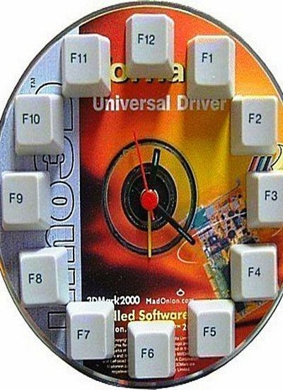 Поделки из дисков