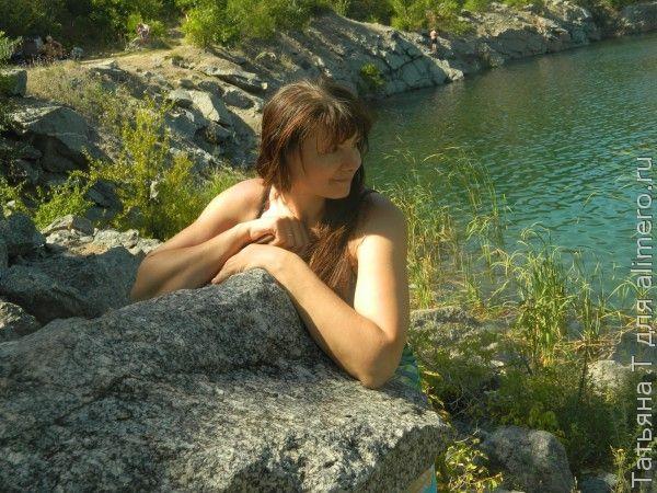 Девушка, природа
