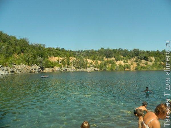 Озеро, карьер
