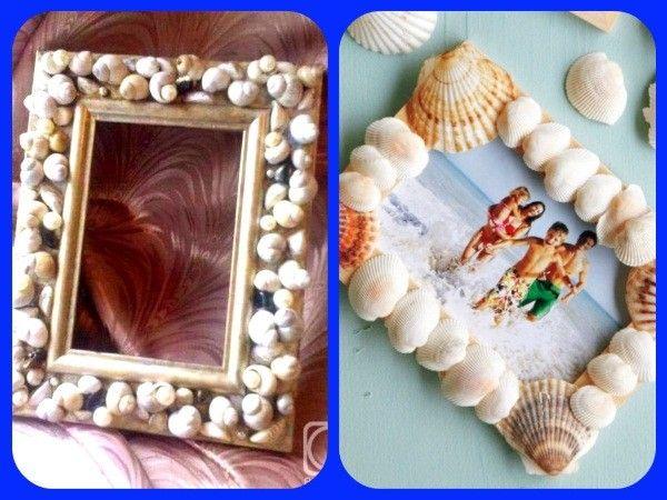 Поделки из ракушек и морской гальки