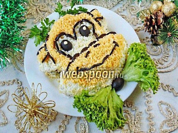 оформление и рецепты салатов на детский праздник