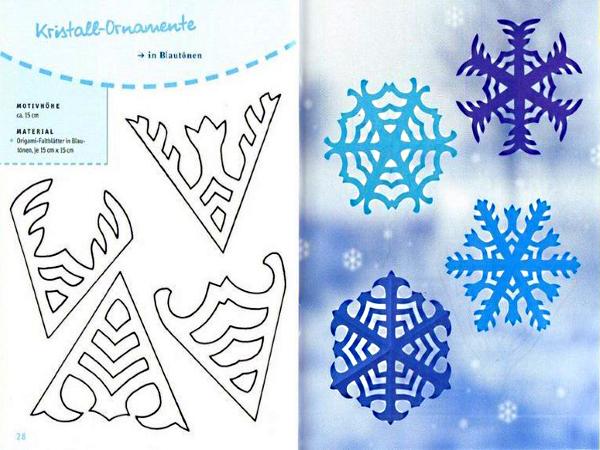 Как вырезать снежинку из салфетки своими руками поэтапно