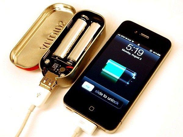 Портативное зарядное устройство - для тех, с кем постоянно хочется общаться