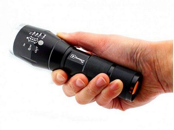 Удобный фонарик - для надежного спутника