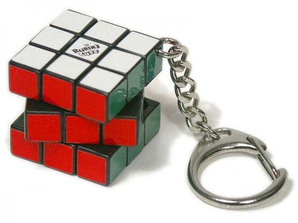 Брелок с кубиком Рубика - для любителя головоломок