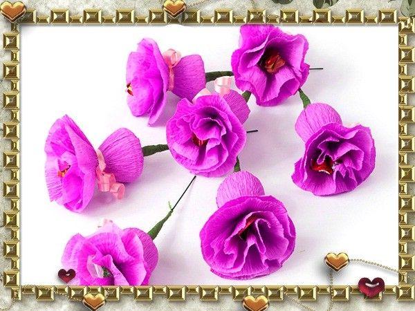 Все бутончики расправьте, чтобы получились вот такие цветы.