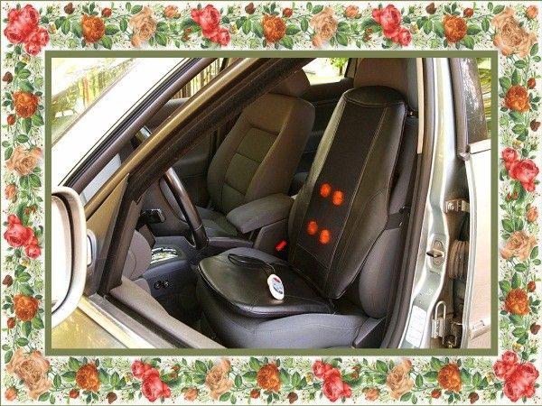 Чехол с подогревом на автомобильное сиденье - для автоледи.