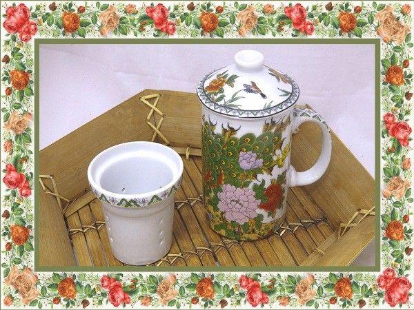 Чашка с заварничком - для уютной и домашней.