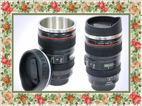 Кружка в виде объектива - для женщины-фотографа.