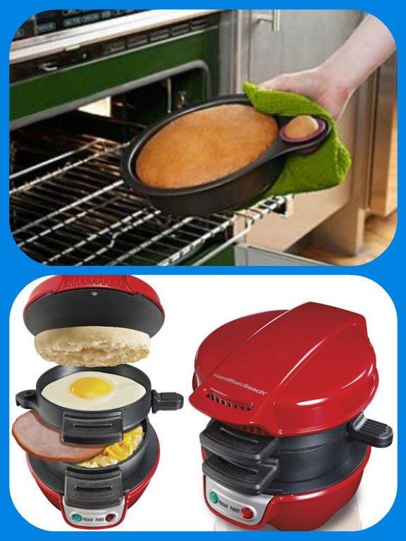 Противень с отделением для пробного кусочка, и машинка для приготовления  идеальных горячих бутербродов.