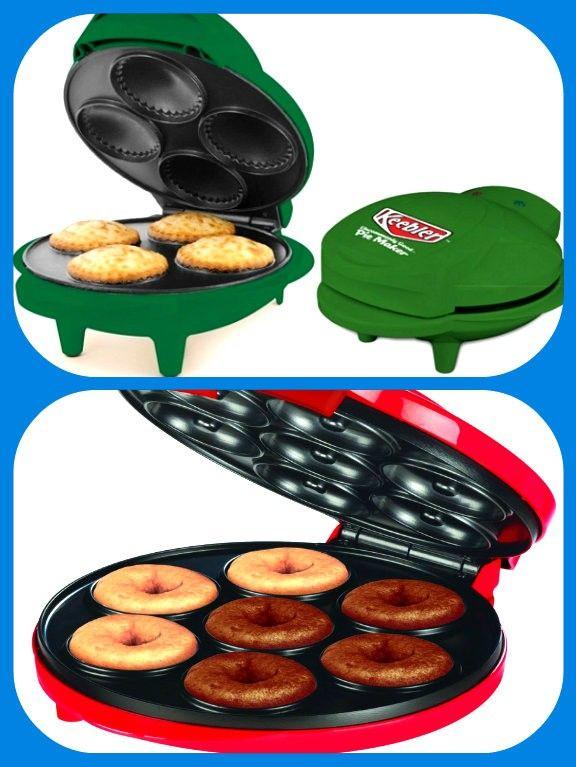 Електрические формы для выпечки диетических пирожков и пончиков.