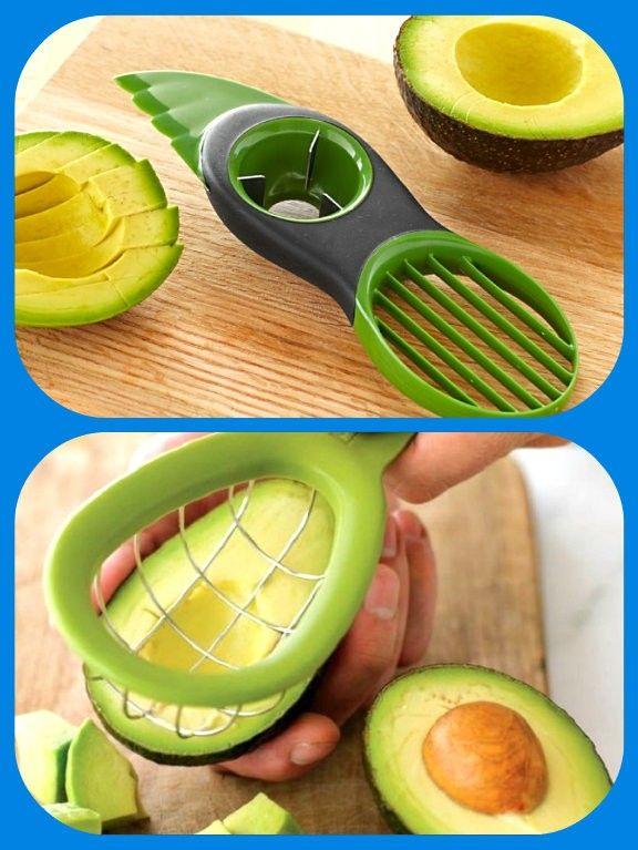 Тесак для авокадо «3 в 1», и удобная авокадорезка.