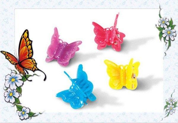Заколки-бабочки.