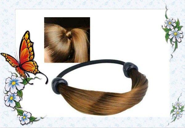 Резинка из искусственных волос.