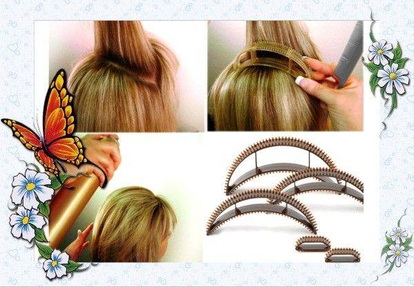 Заколка для объема волос.
