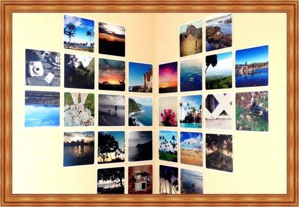 Семейные фотографии в интерьере — 30 идей