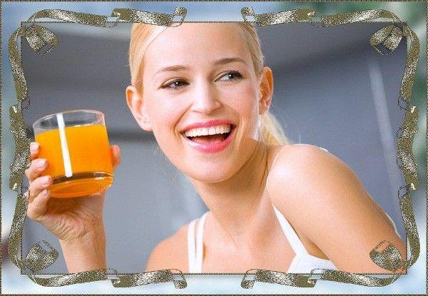 Купите соковыжималку и заведите привычку каждый день делать какой-то сок. Натуральные соки, приготовленные из любых фруктов и овощей, при регулярном употреблении не только станут источником витаминов, но и улучшат внешний вид.