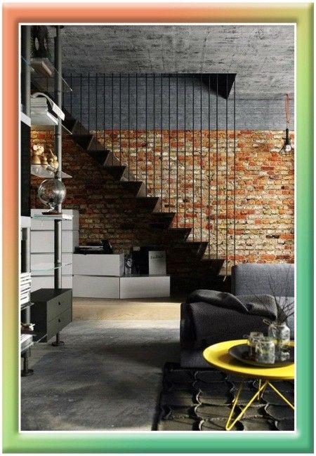 Лестница в интерьере.  34 вдохновляющих фото