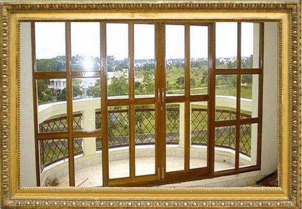 Дизайн балконной двери