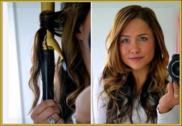 1. Когда завиваете волосы плойкой или стайлером, начинайте с середины локона, а не с конца. Укладка продержится дольше.