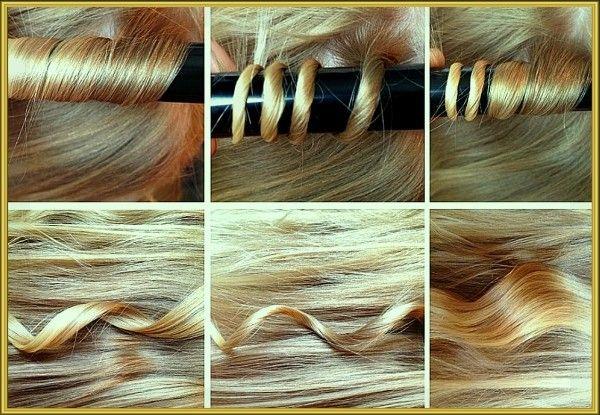 13. Используйте различные методы закручивания волос, чтобы получить тот вид завитка, который хотите.