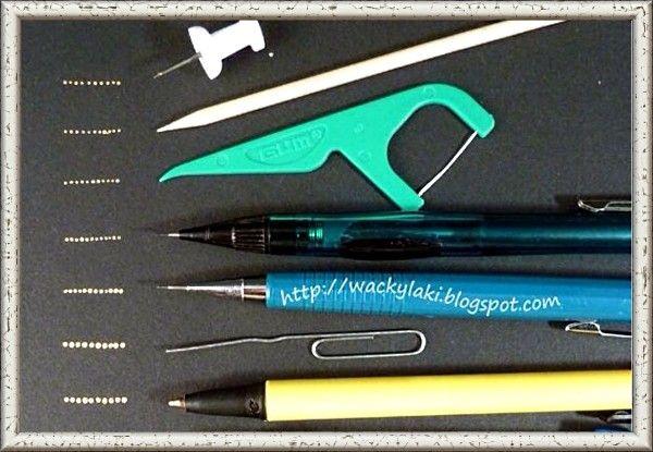 13. Если у вас нет дотса,- палочки для нанесения рисунка в маникюре,- используйте подручные инструменты. Например, английские булавки, зубочистки, пустые шариковые ручки и так далее.