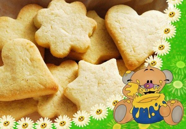 Рецепт печенья на молоке и маргарине с пошагово