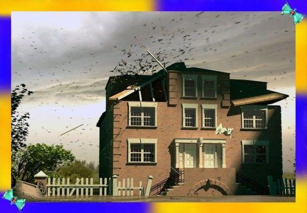 6. В случае бури закрывайте всё. Сильный ветер легко повреждает дома с открытыми окнами или дверьми. Поэтому обязательно закрывайте их во время штормового предупреждения. Одного резкого порыва будет достаточно, чтобы незаметный сквозняк стал причиной трагедии.