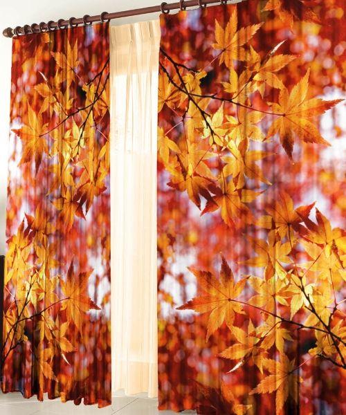 Яркие шторы с фотопринтом