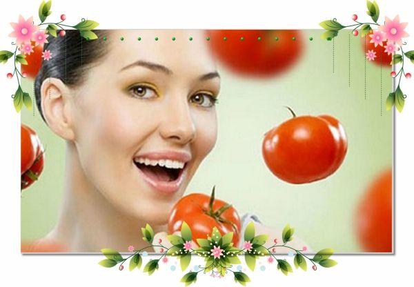 14. Очищающая маска из томатов и лимонного сока. Вам потребуется: две столовые ложки обезжиренного кефира, четверть стакана протертой без кожицы и семян мякоти помидор, одна столовая ложка лимонного сока. Смешайте все ингредиенты. Распарьте кожу лица или примите горячий душ, нанесите маску на 15 минут, затем смойте водой комнатной температуры. Томаты и лимон, благодаря витаминам С, ретинолу и высокой кислотности, глубоко очистят и напитают кожу. Кефир осветлит лицо и придаст коже упругость и эластичность.