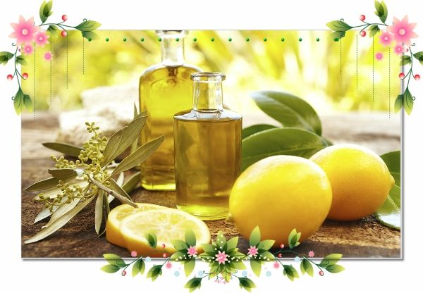 21. Маска из оливкового масла и лимонного сока. Возьмите: половину столовой ложки лимонного сока, половину столовой ложки оливкового масла, тщательно смешайте и нанесите на лицо на 15 минут. Смойте теплой водой.