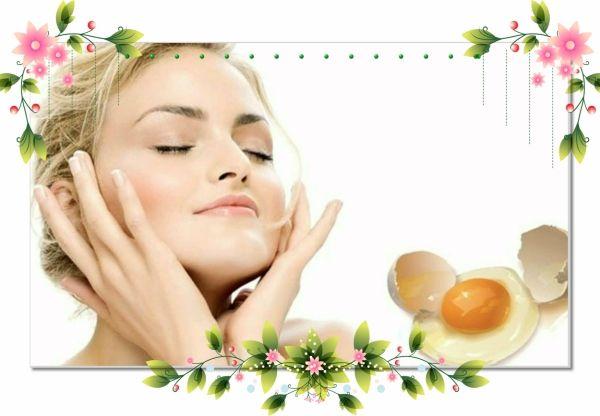 1. Маска из яичного белка. Отделите яичный белок от желтка, взбейте его в крутую пену, затем нанесите на лицо и оставьте на 20 минут. В течение этого времени, по мере подсыхания, нанесите один-два дополнительных слоя маски.