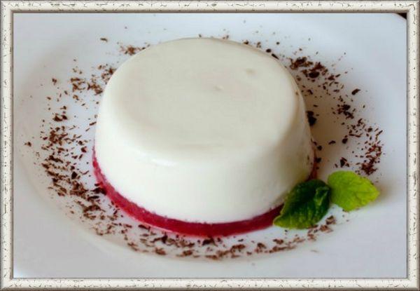Десерт панакота рецепт с фото пошагово