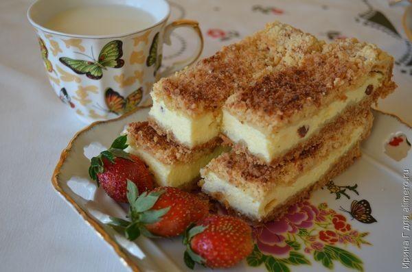 Песочный бисквит для торта