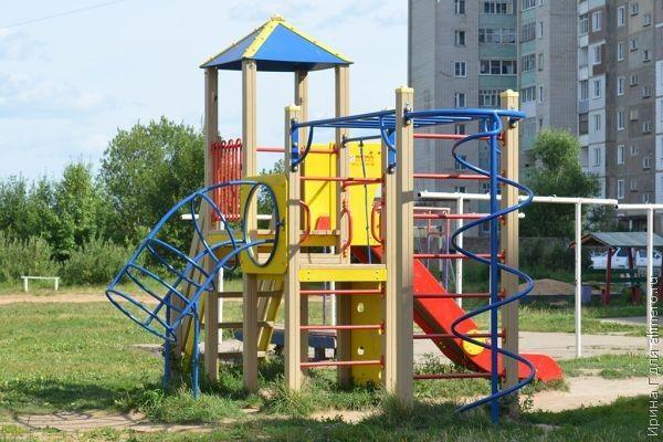 Мир детской площадки