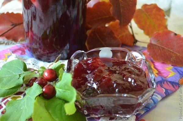Яблочно-сливовый конфитюр