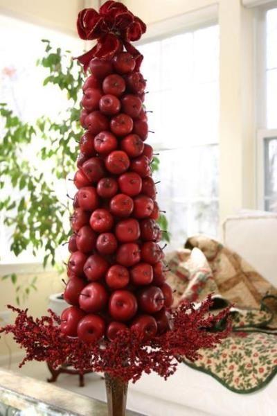 Нарядная и … вкусная елка несомненно будет украшением новогоднего стола.