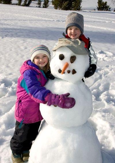 Варианты фото со снеговиком ограничиваются только вашей фантазией!