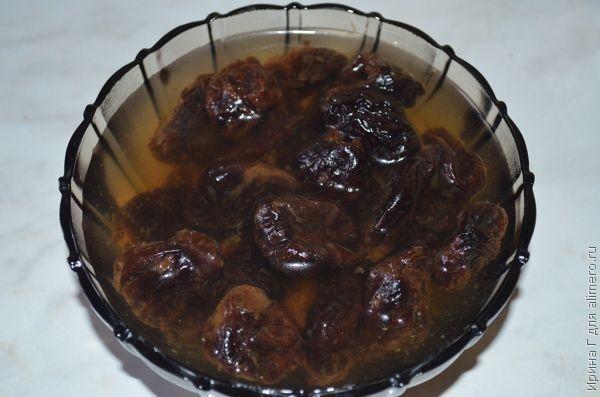 Рогалики с черносливом рецепт