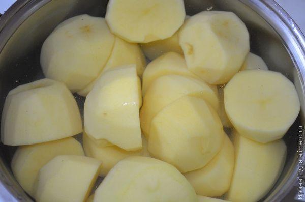 Быстрый суп-пюре из картофеля