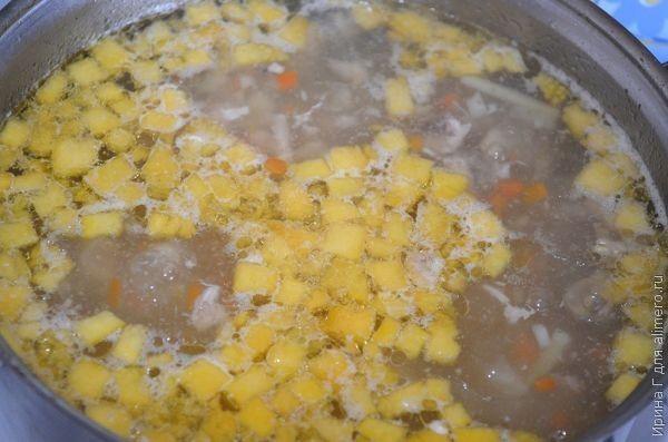 быстрый куриный суп с овощами рецепт