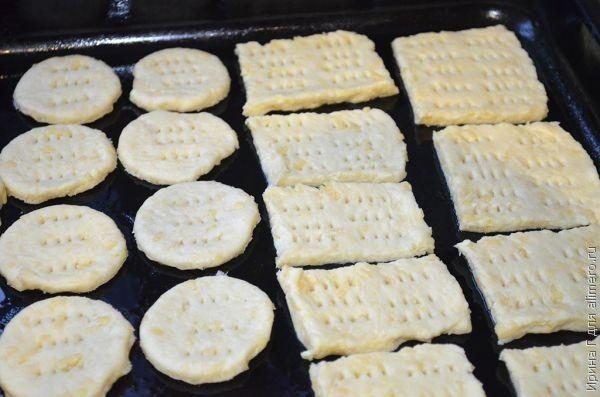 галеты картофельно-сырные рецепт