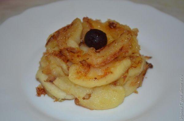 яблочный десерт рецепт