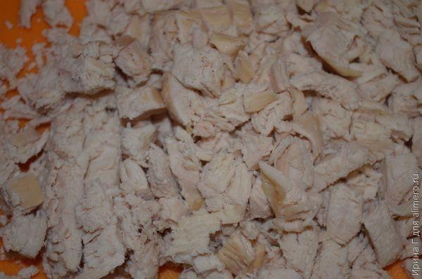 салат из свеклы и курицы рецепт